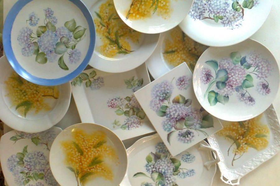 MINICORSI ESTIVI….I fiori! Ortensie e Mimose
