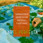 """""""LABORATORIO IMPRESSIONI NATURALI D'AUTUNNO"""" Eco printing con Luana Firmani. Domenica 10 Novembre 2019"""