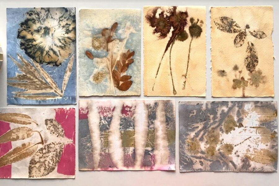 5 Luglio, Laboratorio di Ecoprinting (stampa vegetale)